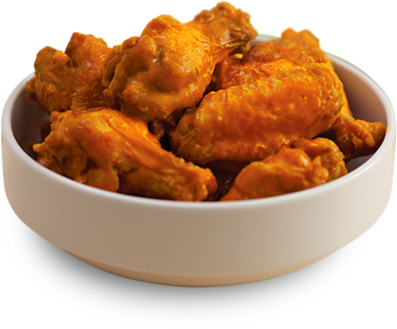 Bowl of wings
